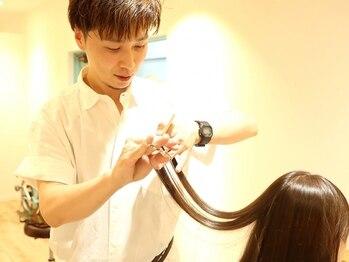 ヘアガーデンエヌズ(Hair garden N's)の写真/あなたの《もっと》に応える[マンツーマン施術]じっくり、とことん[正解]を一緒に探します。【白岡】