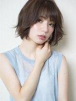 MY hair design 外ハネフェミニン 三角祐太