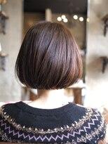 ノエル ヘアー アトリエ(Noele hair atelier)Noele×ツヤ感あごラインショート