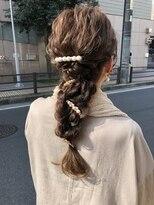 デコヘアー キートス(DECO HAIR kiitos)編みおろしのお呼ばれアレンジ