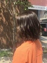 エンヘアー(en hair)赤みを抑えた白髪染め◎つやつや◎