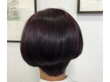 ヘア メイク ヤマザキ(hair make YAMAZAKI)の雰囲気(酸性カラーで髪本来の輝き取り戻します☆肌が弱い方でも安全です)