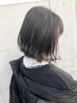 ラノバイヘアー(Lano by HAIR)【Lano by HAIR】 北村 亮 フレンチボブ ネイビーカラー