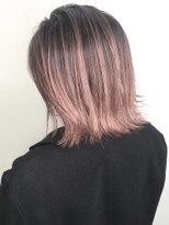 ソース ヘア アトリエ 京橋(Source hair atelier)【SOURCE】ピンクベージュ