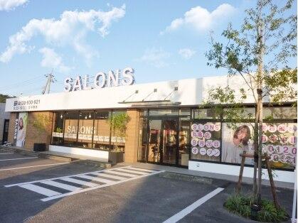 サロンズヘア 丸亀土器店(SALONS HAIR)の写真