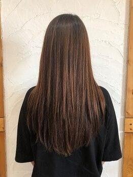 ニコヘアーメイク(nico hair make)の写真/あなたの゛なりたい゛を叶える似合わせ技術。忙しい朝も楽にセットできる再現性の高いカットがおすすめ☆