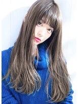 【大人可愛いイルミナカラーグレーベージュ】Hayato Ooshiro