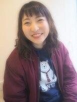 エミュ(eMu)短め前髪がキュートな簡単ミディ ☆