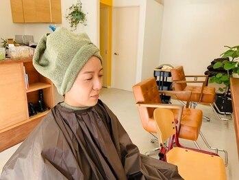 アメ ヘナサロン(AME)の写真/しっかりとしたカウンセリングで頭皮ケアや髪質改善、ヘナのお色やトリートメント作用をご説明いたします。