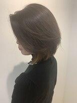 ヘアーリゾートラシックアールプラス(hair resort lachiq R+)《R+》イヤリングカラー☆ミディアムボブ