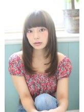 ジーナギンザ(Zina GINZA)☆Zina☆プラチナオリーブ×柔らか愛されストレート