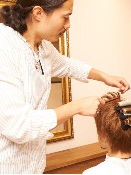 ニコ ヘアデザイン(nico hair design)の写真/オススメのデジタルパーマでゆるふわで柔らかな印象に♪大人可愛く、もっと自分らしいスタイルが見つかる☆