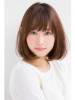 【東 純平】小顔に見えるAラインシルエットボブ