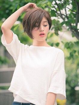 アリュール(Allure)の写真/気になり始めた白髪も綺麗にカバー★ご希望の色はもちろん、一人一人の雰囲気にあったカラーをご提案♪