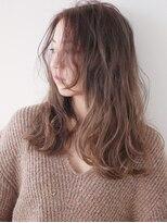 ヘアー ピープル(Hair People)オフィス◎くせ毛風無造作デジタルパーマ&外国人風ベージュ