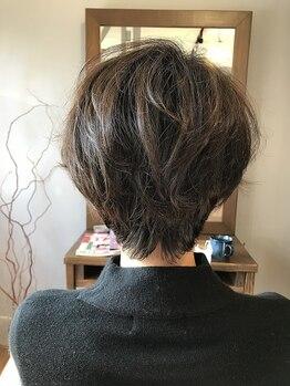 ブリエヴォー(briller vous)の写真/なりたいStyleを似合うStyleへ。誤魔化しが効かないショートヘアだからこそ卓越した高いカット技術が光る☆
