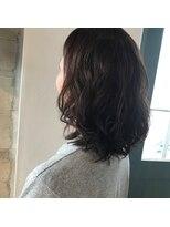 リアン ヘアー(Lien hair)セミディーパーマスタイル