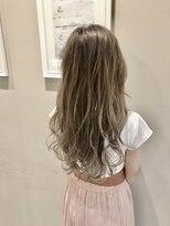 アルマヘア(Alma hair)プラチナ☆グレーグラデーション