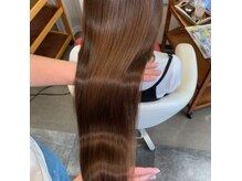 ヘアーメイク リボーン ムーヴ(hair make re:bbon move)の雰囲気(《人気*》新MENUのサイエンスアクアで艶が手に入ります♪)