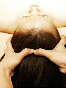 セレクトヘアー 北仙台店(Select hair)の写真/屈指のマッサージがやみつきになるsaraのヘッドスパ☆こだわりのマッサージと癒しの空間で至福の一時を…。