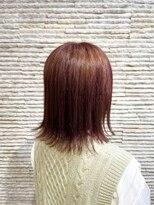 ビス リアン 川口店(Vis lien)切りっぱなし/ボブ/ハイトーン/ケアブリーチ/小顔/シアーピンク