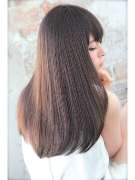アフロート ルヴア 新宿(AFLOAT RUVUA)メレンゲカラーでクリーミーな透明感艶感を演出☆白髪染めも対応