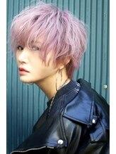 ジオラマ ヘアメイク(DIORAMA Hair Make)【DIORAMA】スモークピンク/ショートボブ