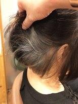 テトラ ヘアー(TETRA hair)【TETRAhair 小川】ホワイトベージュインナーカラー
