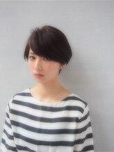 ヘアーサロン ノーヴェトウキョウ(Hair Salon Nove Tokyo)<Nove>イルミナピンクブラウン×シンプルマッシュボブ