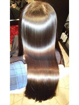 デュース ヘアーメイクス(DEUCE Hair Makes)の写真/【成田】リピーター上昇中!!お客様全般のお悩みを解決!一度体験して頂ければ【KIRARA】の良さが分かる!