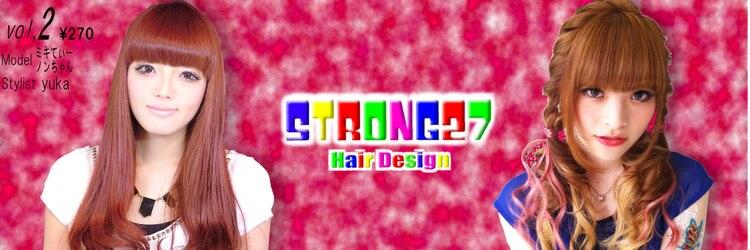 ストロング27(STRONG27)のサロンヘッダー