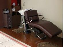 ルージュミュー(ROUGE mieux)の雰囲気(ゆったりとした椅子でヘッドスパができる施術スペースあります☆)