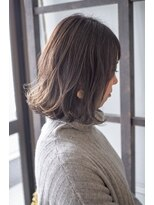 リタへアーズ(RITA Hairs)[RITA Hairs]ハイライトxxシルバーx外ハネボブ☆お客様snap