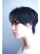 《hair make No.8》簡単スタイリングショート・担当中村