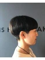 ビスヘアアンドメイク(BIS hair&make)ショートマッシュ