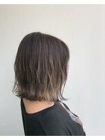 ヘアメイク オブジェ(hair make objet)ハイライトグラデーション