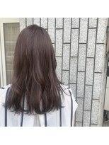 アルマヘアー(Alma hair by murasaki)ブリーチなしのラベンダーカラー