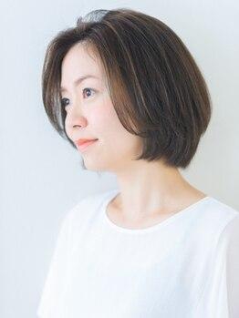 ヘアサロン マゼラン 新宿(Magellan)の写真/大人女性の本格エイジングケアサロン【マゼラン】。こだわりのオーガニックカラーで染めるたび綺麗になる♪