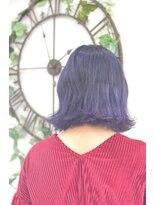 ヘアーサロン エール 原宿(hair salon ailes)(ailes原宿)style326デザインカラー☆ヴァイオレットブルージュ