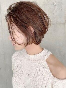 ビームズヘア 千種店(Bee ms HAIR)の写真/【驚くほど綺麗な仕上がりに!】天然由来成分配合のオーガニックカラー剤使用◎繰り返すほど艶髪に。