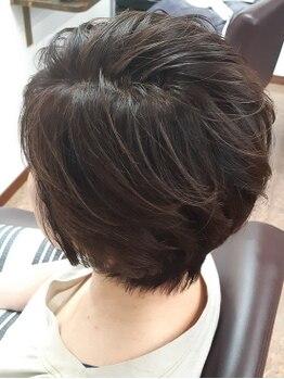 ヘアーヒーリングサロン アズ ラグジュアリー(hair healing salon az luxury)の写真/敏感肌・髪や頭皮へのダメージが気になる方必見◎『低刺激性カラー』『ノンジアミンカラー』取り扱い店◇