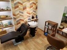 ヘアーアンドリラックスフィカス(Hair&Relax FICUS)の雰囲気(半個室の施術スペースで、周りを気にせずお過ごしください♪)
