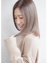 ヘアーラウンジ ハピル(Hair lounge Hapir)【髪質改善カラートリートメント】ラベージュ