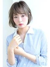 ロゼ 京橋(Rose)【Rose/京橋】グレージュ_エアリーショート_アシメショート