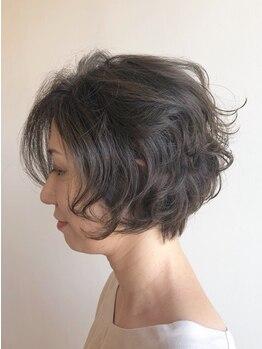 ヘアー ルシア(hair lucia)の写真/居心地の良い落ち着いた空間が人気の《lucia》大人女性の髪の悩みに答えてくれるワンランク上のサロン♪