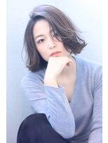 キング ヘアーアンドアイラッシュ(K!ng hair&eyelash)サラ&☆サラ&ツヤ美髪♪クラシカルなフェミニンボブ