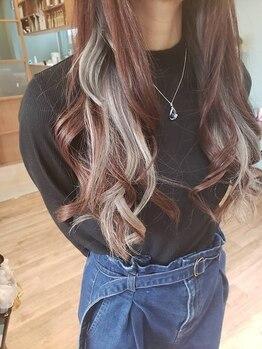 ゴタヘアー(gota hair)の写真/《最旬/上質な透明感カラー》なりたい色味&髪質改善も叶えるならgota hairへ☆