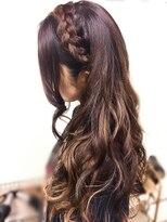 ヘアセットサロン アトリエ チャイ(Hair set salon atelier CHAI)編み込みカチューシャ