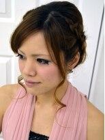 【プレストベル】 サイドあみこみのゆるアップ A-12