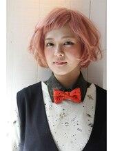 クリコ ヘアーデザイン(CLICQUOT hair design)ペールミルキーピンクBob